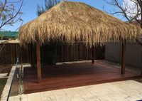 Bali Huts Installed by Mr Thatch