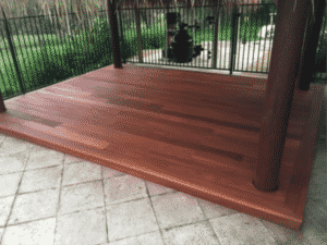 jarrah timber decking perth