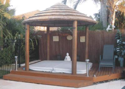 African Thatched Gazebo