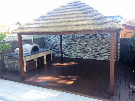 african-huts-installed