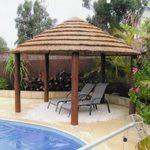 african-hut-installation